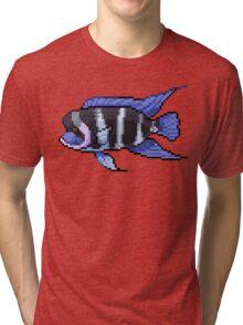 Pixel Frontosa Tri-blend T-Shirt