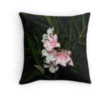 oleander's !! Throw Pillow