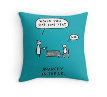 Anarchy In the Uk Throw Pillow