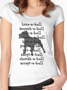 love-a-bull ! Women's Fitted Scoop T-Shirt