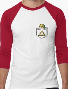 Legend of Zelda - Pocket Link Men's Baseball ¾ T-Shirt