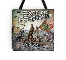 Expanded Perspectives Podcast aliens bigfoot conspiracies big foot sasquatch pyramids ancient america history cryptid crypto monster illuminati egypt Tote Bag