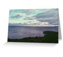 Sea Greeting Card