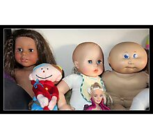 Five Lovely Dolls Photographic Print