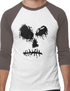 Dead Trend Ripped Batchq Men's Baseball ¾ T-Shirt
