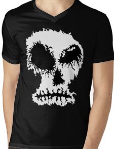 Dead Trend Ripped Batch B Mens V-Neck T-Shirt