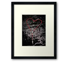 Love and Grace Framed Print