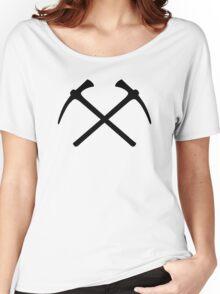 Climbing picks axe Women's Relaxed Fit T-Shirt