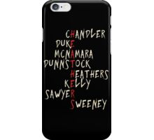 HEATHERS characters iPhone Case/Skin