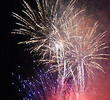Night Fireworks by NicPW