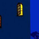 Night in the Backyard by kristiane