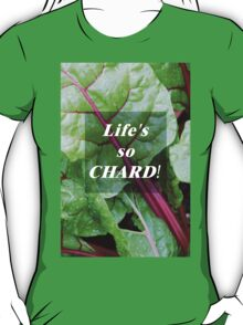 Vegetable Geek Humor Swiss Chard Organic Veggies T-Shirt