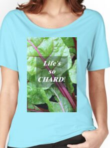 Vegetable Geek Humor Swiss Chard Organic Veggies Women's Relaxed Fit T-Shirt