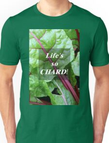 Vegetable Geek Humor Swiss Chard Organic Veggies Unisex T-Shirt
