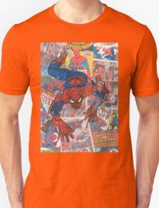 Vintage Comic Spiderman Unisex T-Shirt