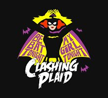 Clashing Plaid - Be My Batgirl! Unisex T-Shirt