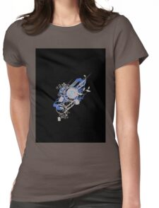 Retro Vector Womens Fitted T-Shirt