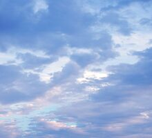 Sky at sunset by NicPW