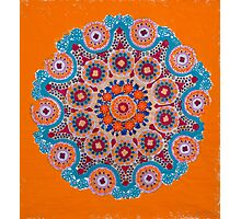 Doily Joy Mandala- Muse Magick Photographic Print