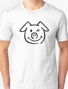Cute pig face T-Shirt