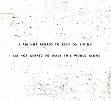 Famous Last Words - My Chemical Romance by LewisDKennedy