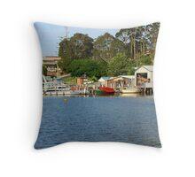 Wagonga Inlet #2 Throw Pillow