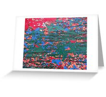 Chipping Paint Greeting Card