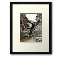 Tucson Mountain Stream Framed Print