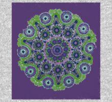 Doily Joy Mandala- Violet Flame T-Shirt