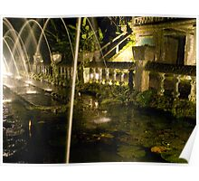The Fountains of Jose Paronella - Paronella Park - Queensland - Australia Poster