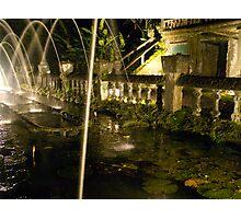 The Fountains of Jose Paronella - Paronella Park - Queensland - Australia Photographic Print