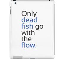 Dead Fish black/blue iPad Case/Skin