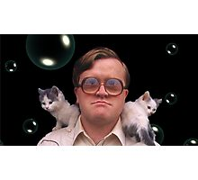 Bubbles and Kitties Photographic Print