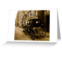OLD FASHIONED AMSTERDAM Greeting Card