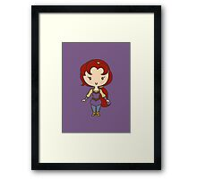 Kayley -Lil' CutiE Framed Print