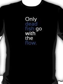 Dead Fish white/blue T-Shirt
