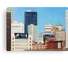 View From The High Line Canvas Print