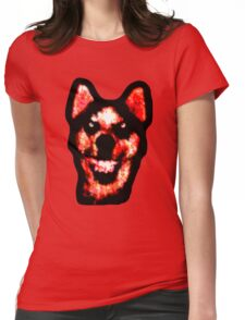 Smile Dog (CreepyPasta) Womens Fitted T-Shirt
