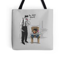 Stuck In The Middle With You Tote Bag