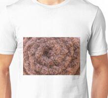 Burlap Salvage Rosette Macro Unisex T-Shirt