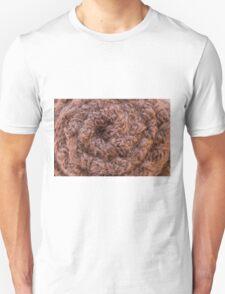 Burlap Salvage Rosette Macro T-Shirt