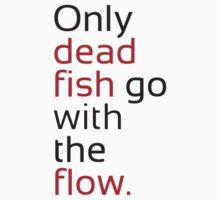 Dead Fish black/red Kids Tee