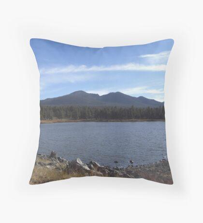 Cataract Lake, Arizona Throw Pillow