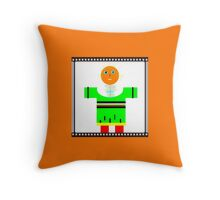 SQUARE modern, abstract figure Throw Pillow