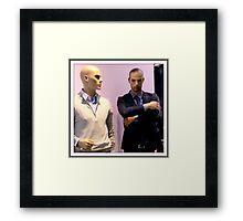 Martian Men  Framed Print