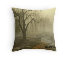 May peace be with you at this time. Throw Pillow
