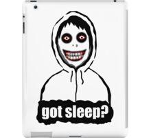 Got Sleep? iPad Case/Skin