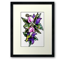 Lillymon - digimon inspired art Framed Print