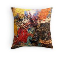 SPACE GUMBO Throw Pillow