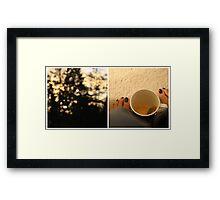 {empty} Framed Print